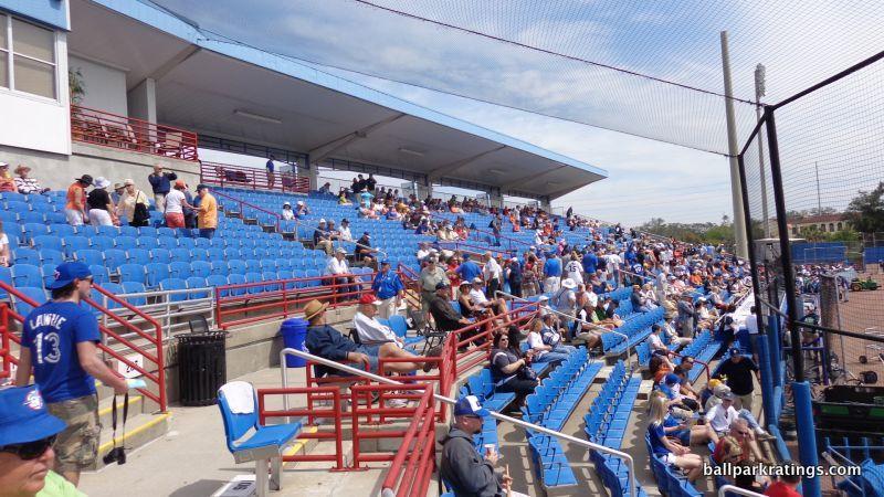 Dunedin Stadium Blue Jays spring training