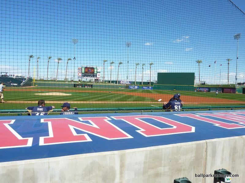 Goodyear Ballpark netting