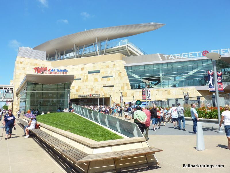 Target Field exterior architecture