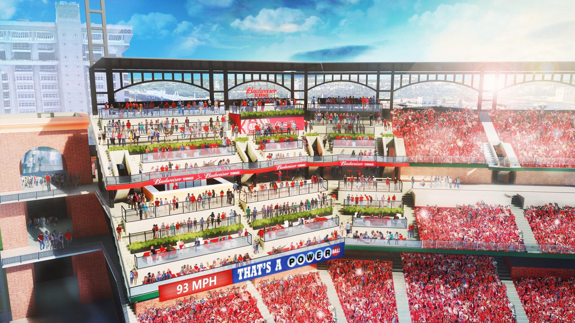 Busch Stadium Budweiser Terrace