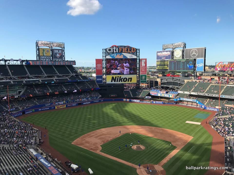 Citi Field view.