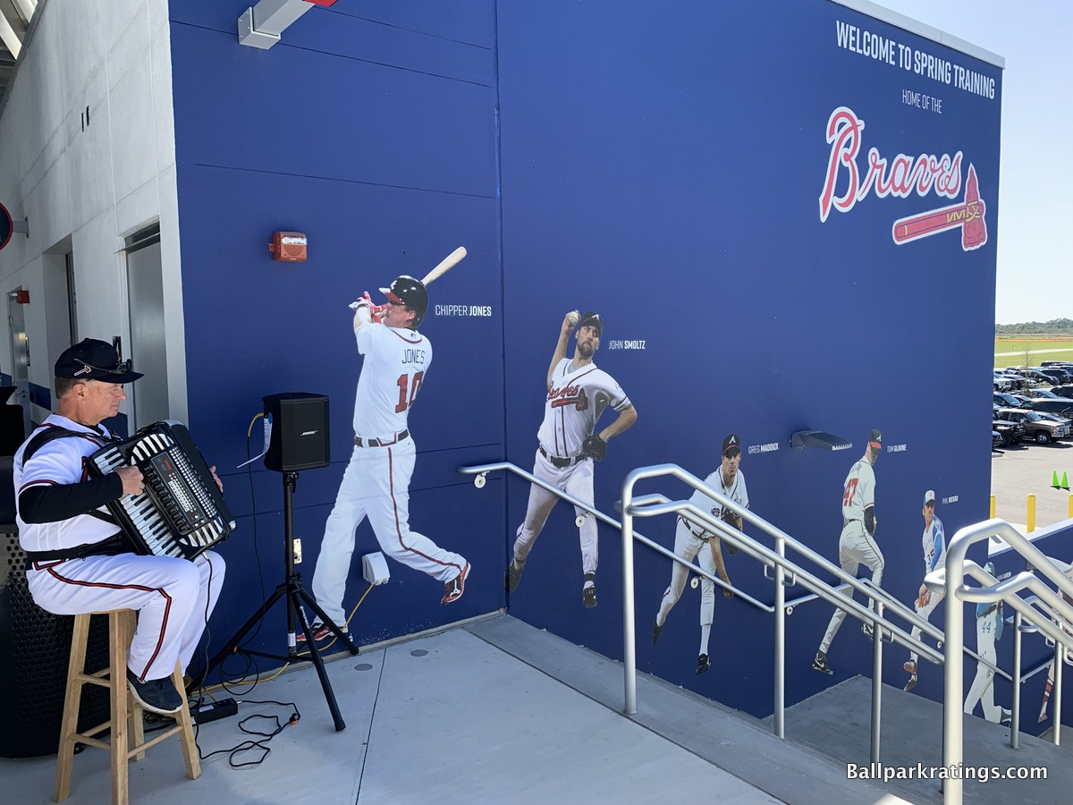 Braves murals CoolToday Park