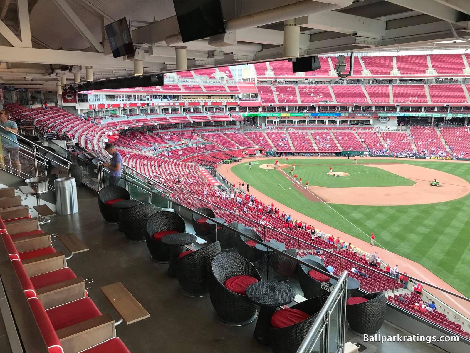 The Handlebar Great American Ballpark