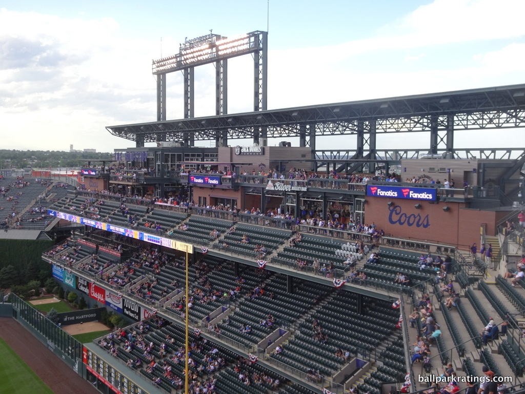 The Rooftop Coors Field