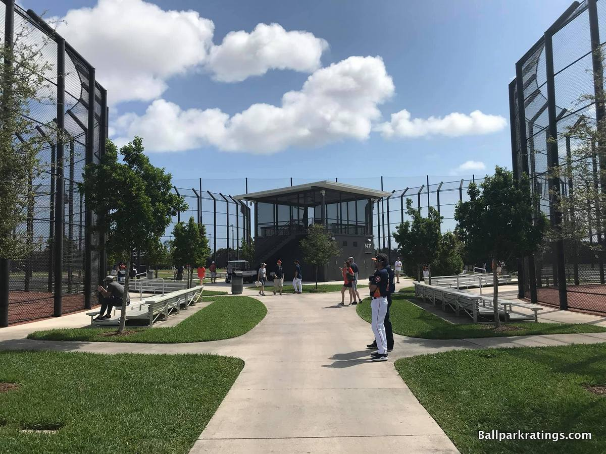 Astros spring training practice fields