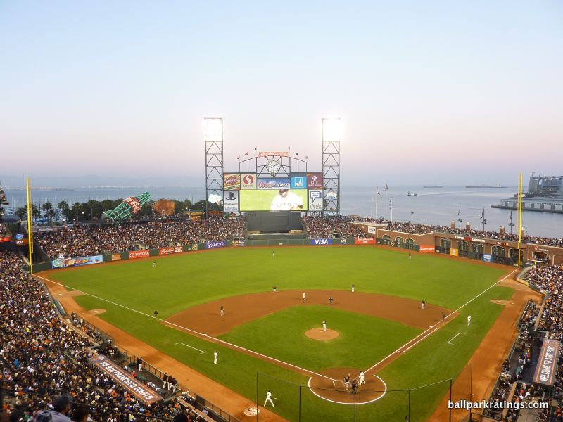AT&T Park water view