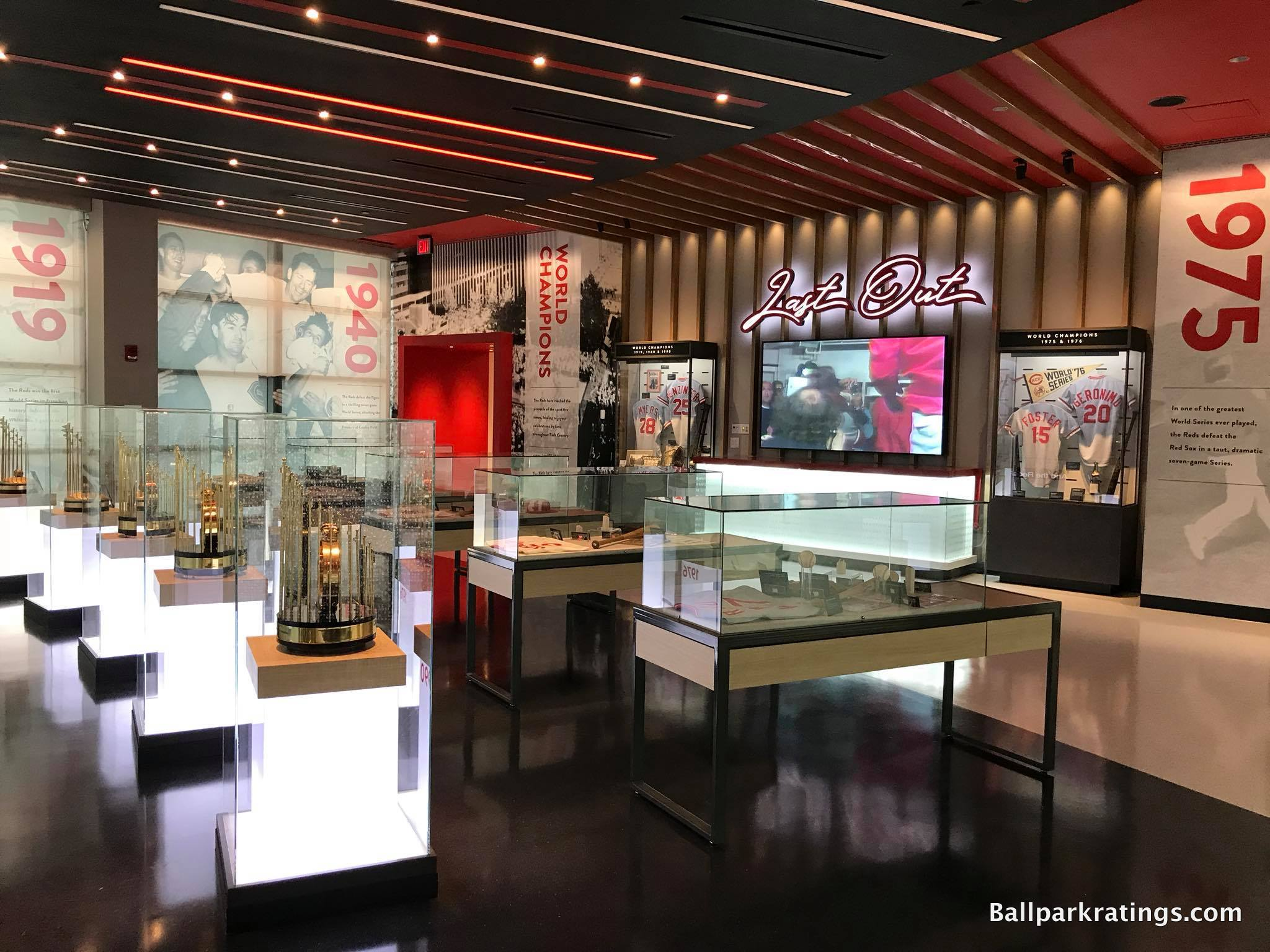 Great American Ballpark Hall of Fame and Museum