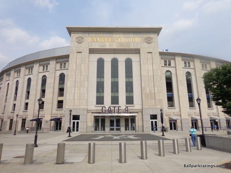 Yankee Stadium exterior architecture