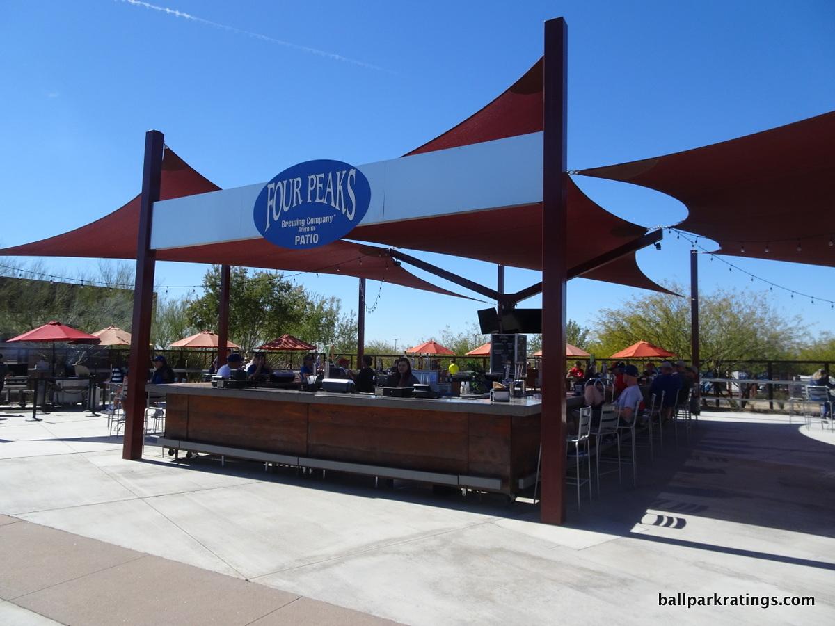 Camelback Ranch bar