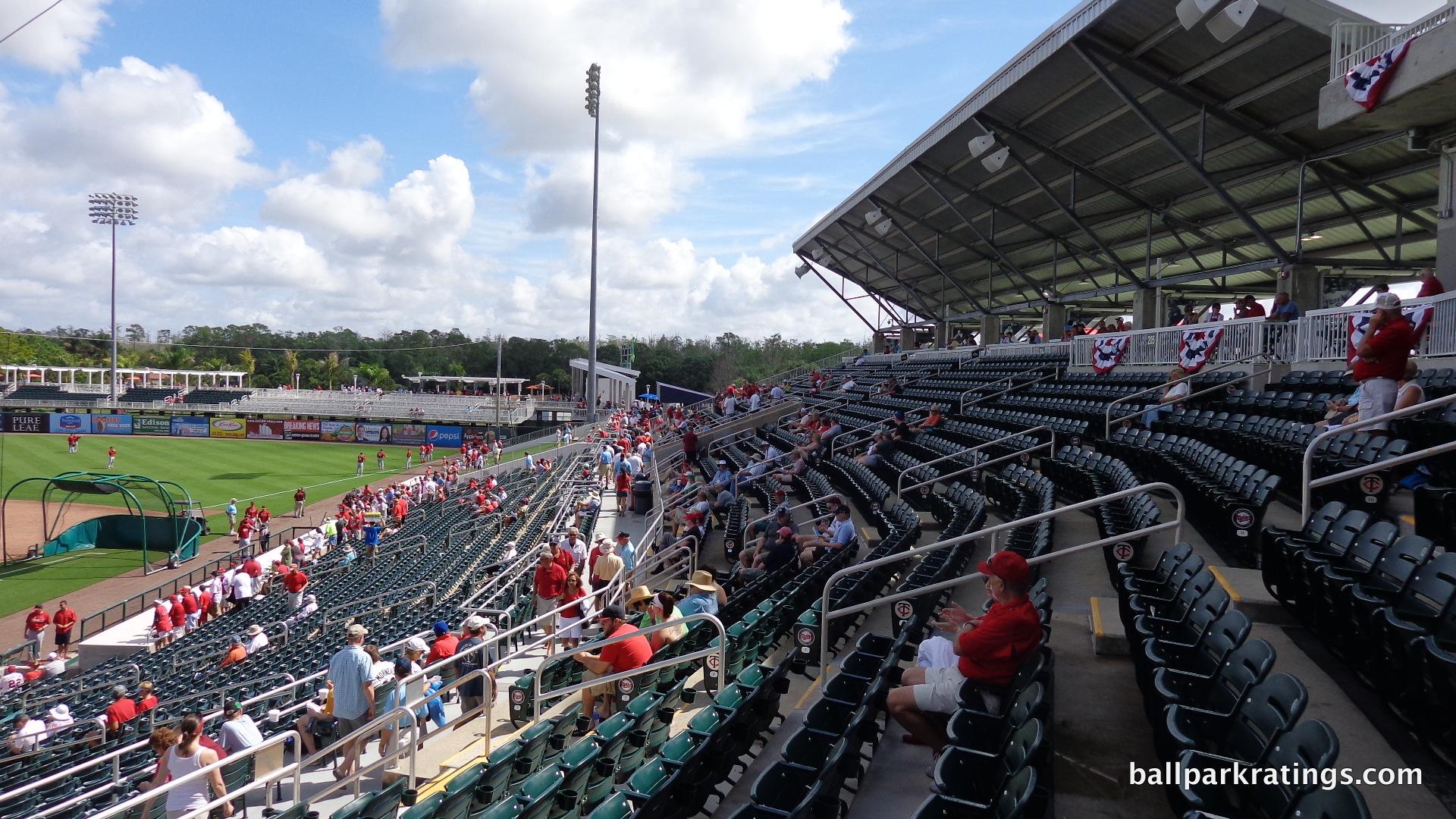 Hammond Stadium seating