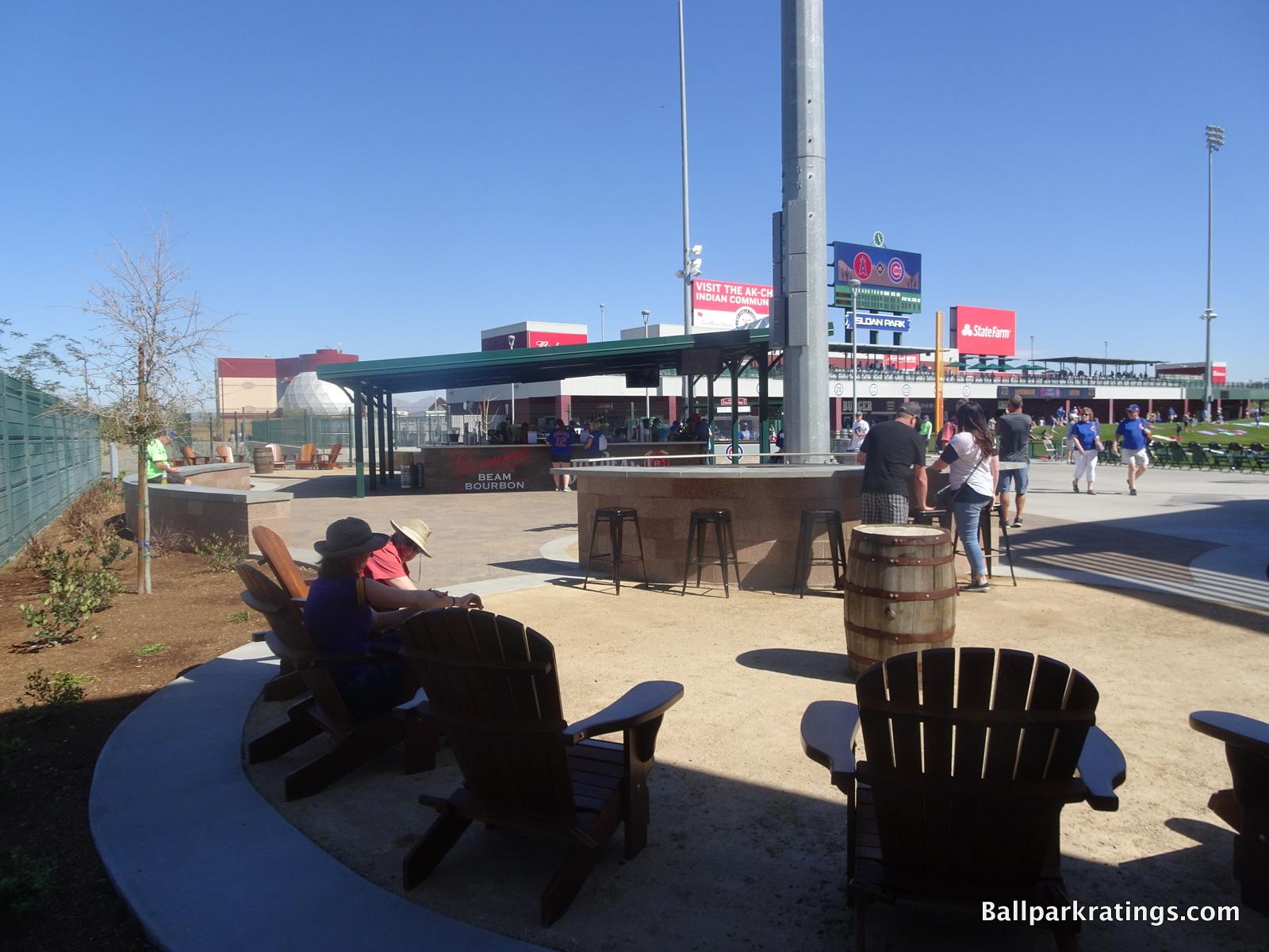 Jim Beam Bourbon Bar Sloan Park