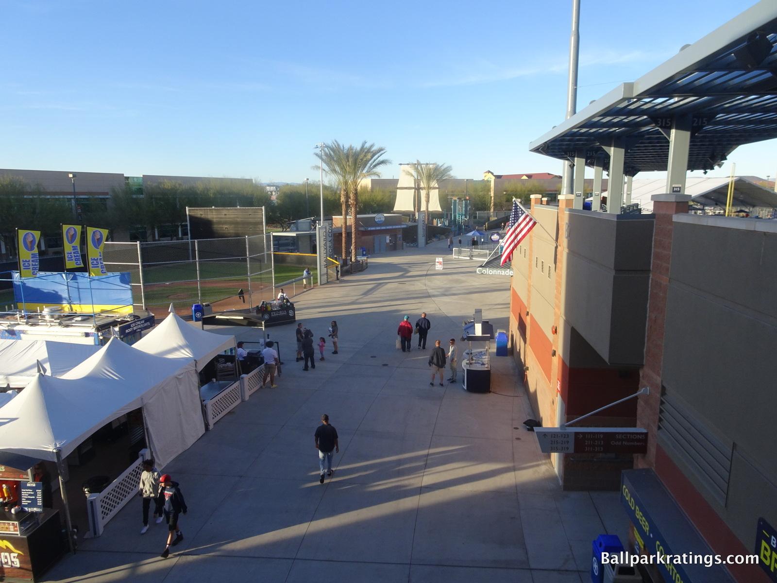 Peoria Sports Complex concourses
