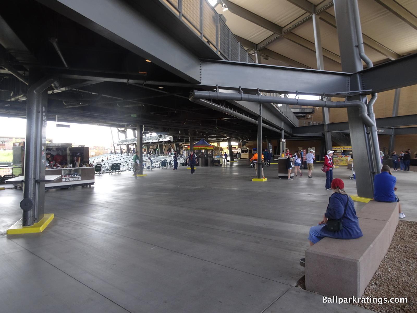 Salt River Fields at Talking Stick main concourse