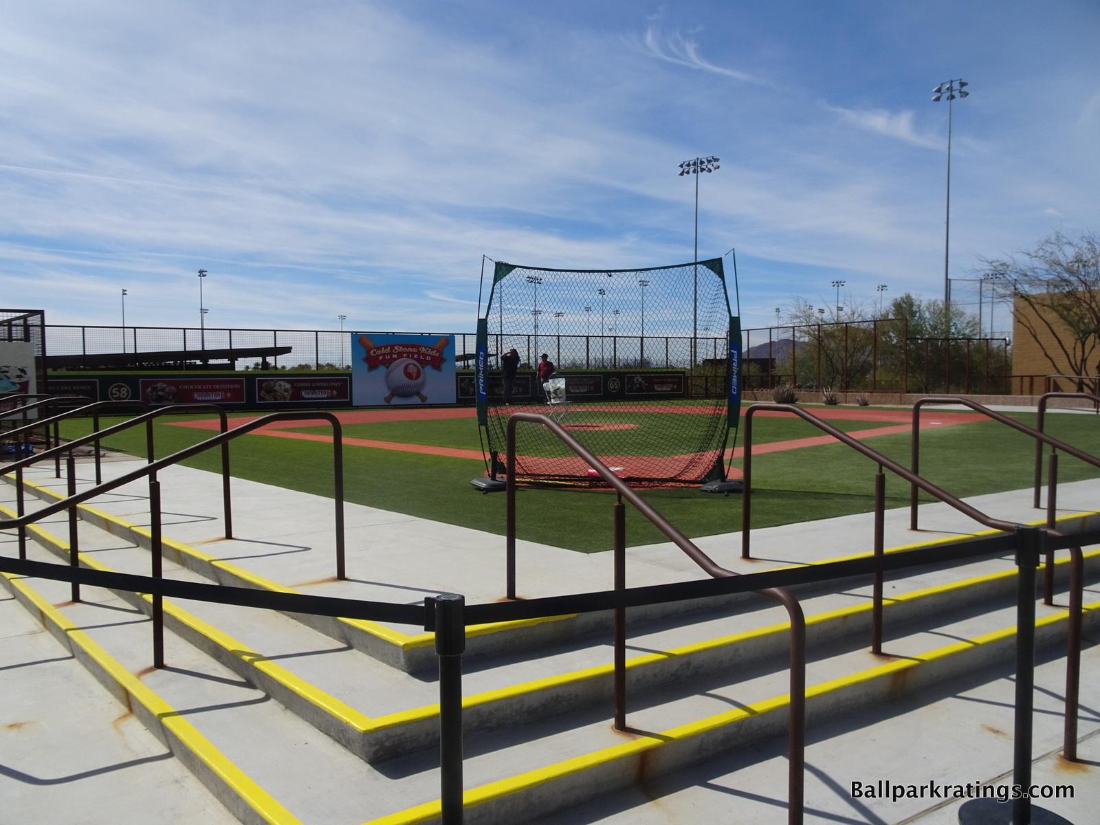 Wiffle Ball field at Salt River Fields at Talking Stick.