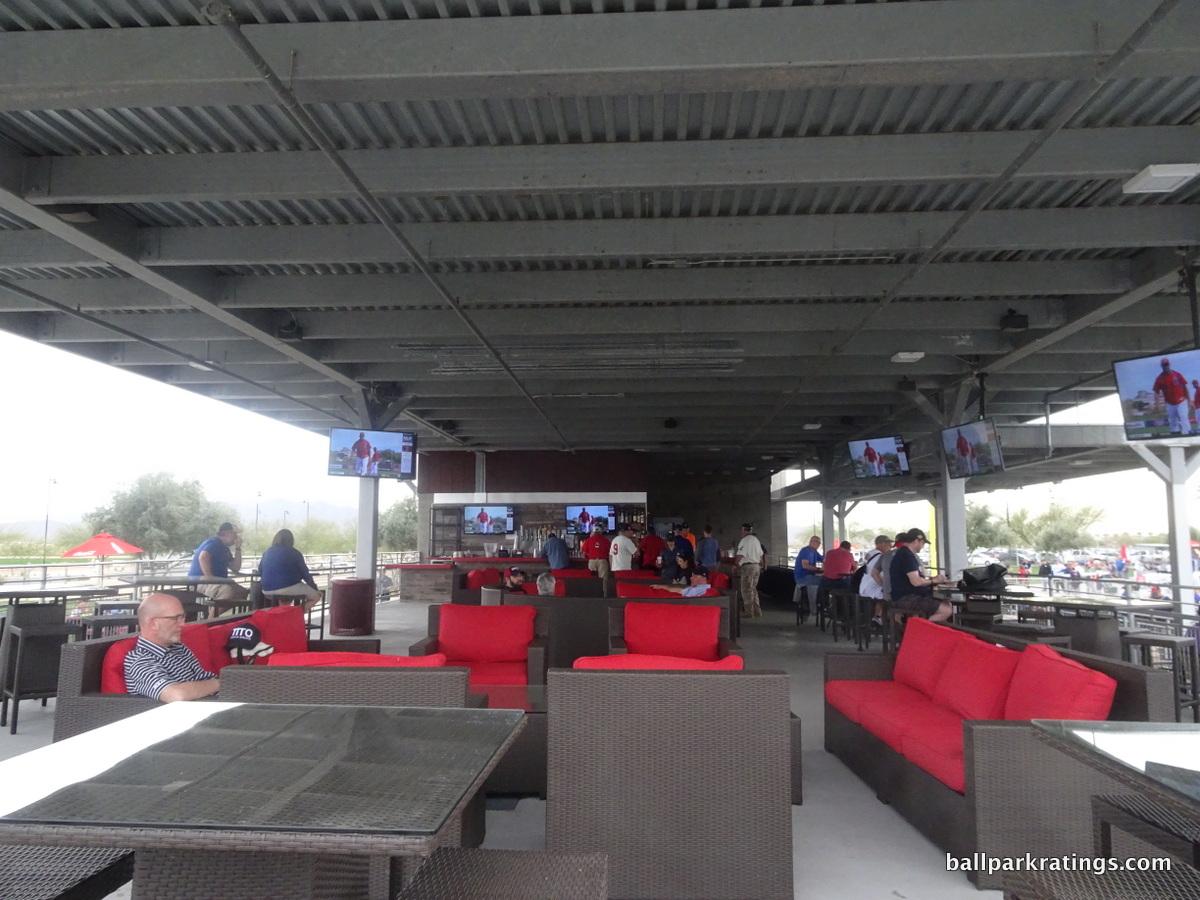 Goodyear Ballpark Right Field Pavilion Lounge