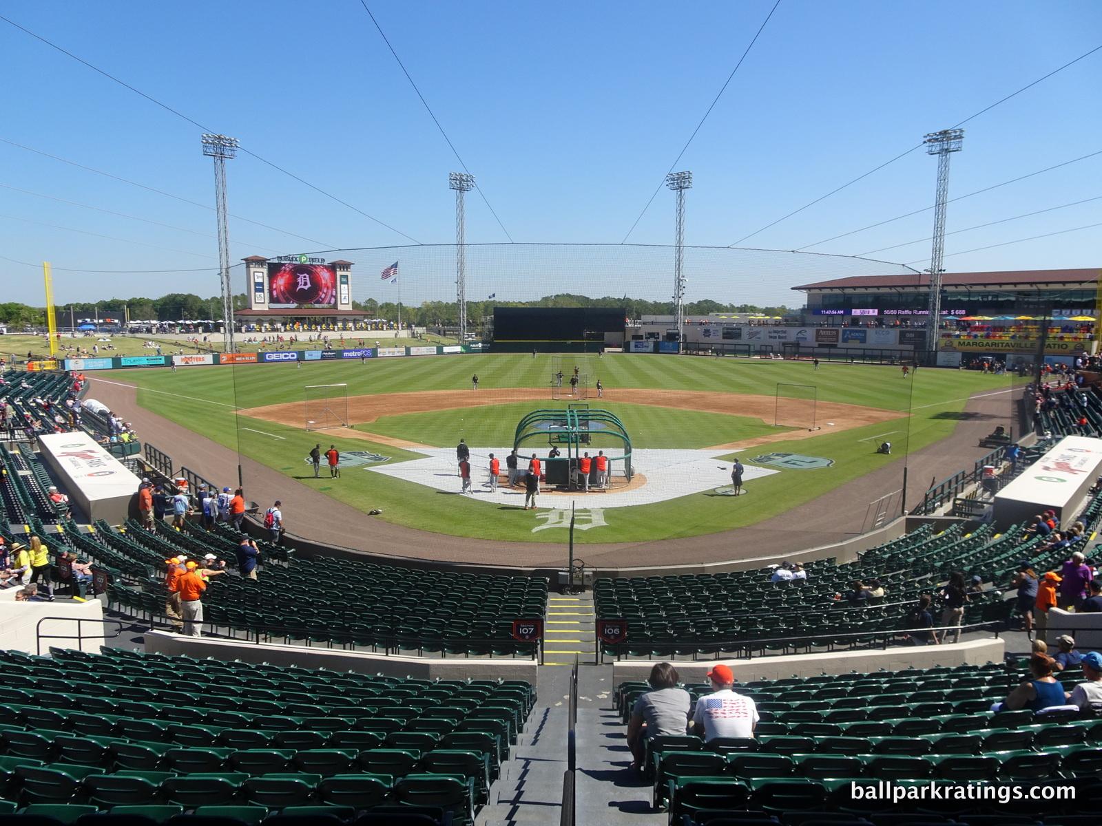 Publix Field Joker Marchant Stadium