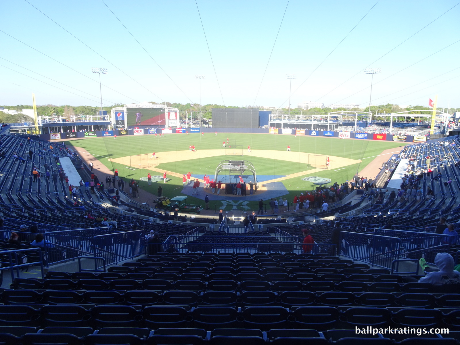 Steinbrenner Field Yankees