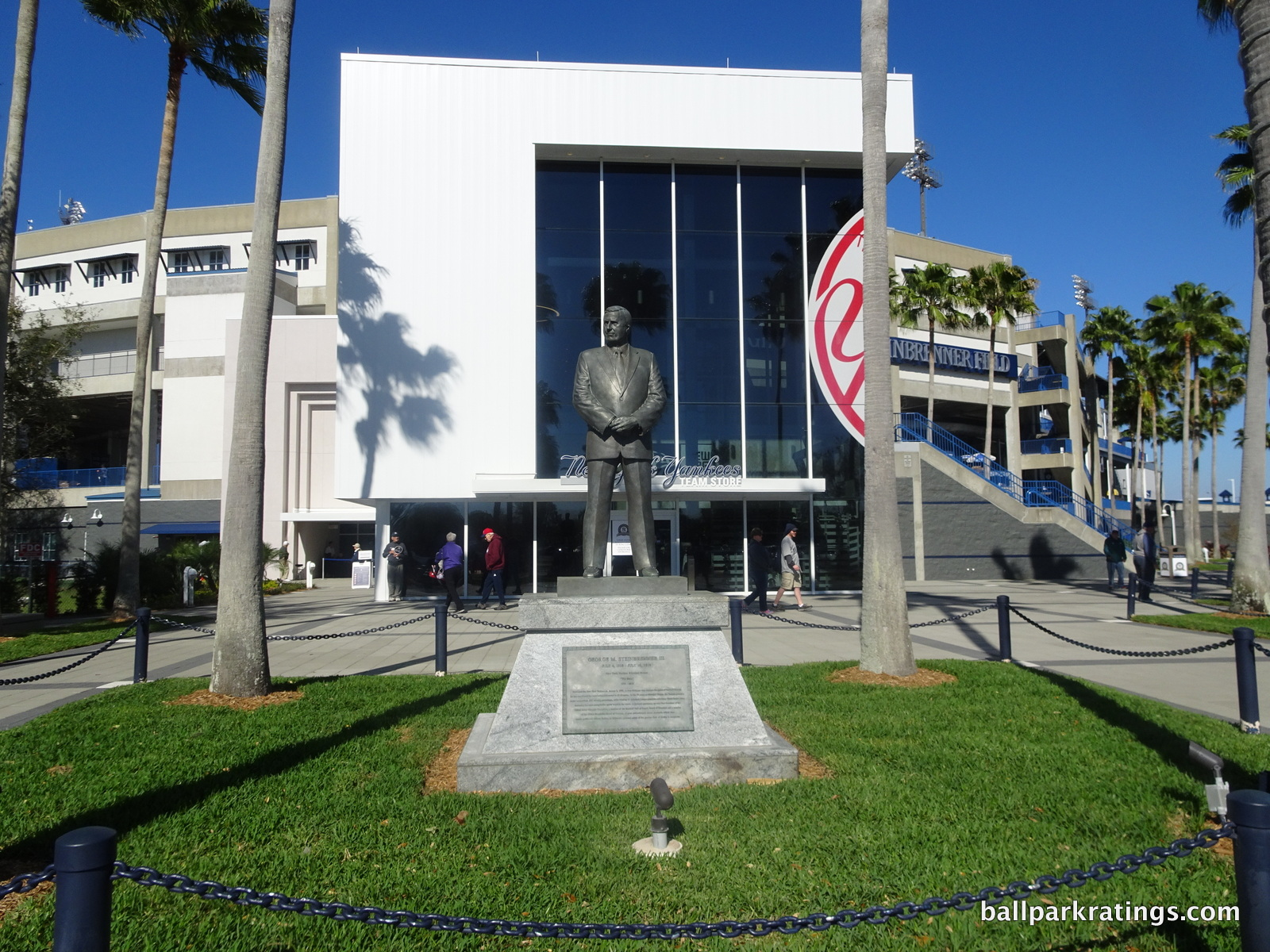 George Steinbrenner Field statue