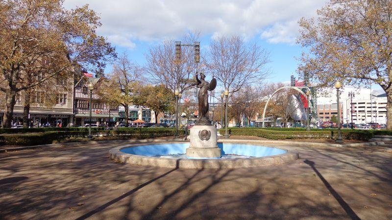 Comerica Park local scene
