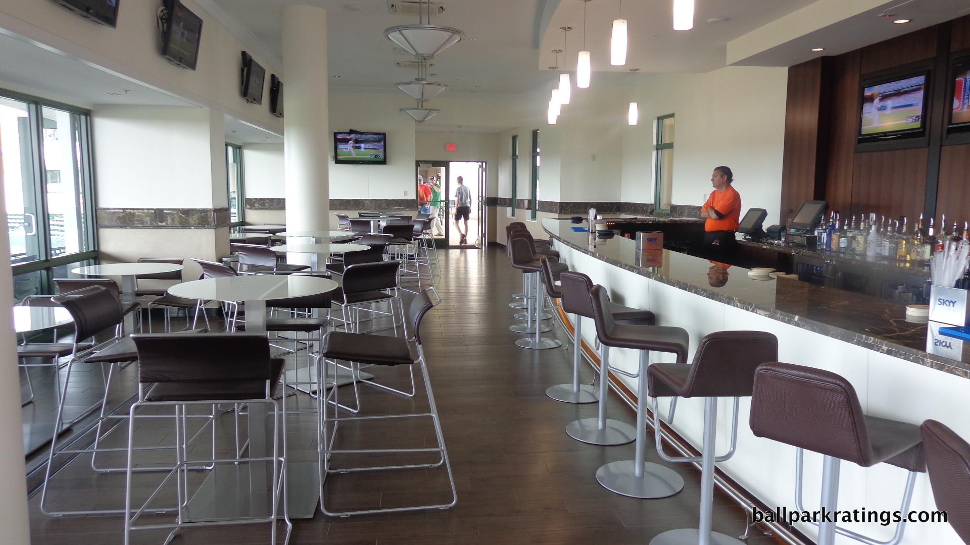 Ed Smith Stadium Third Base Lounge