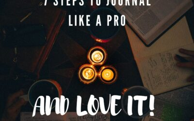 Am I doing it wrong? 7 Steps to Journal Like a Pro!