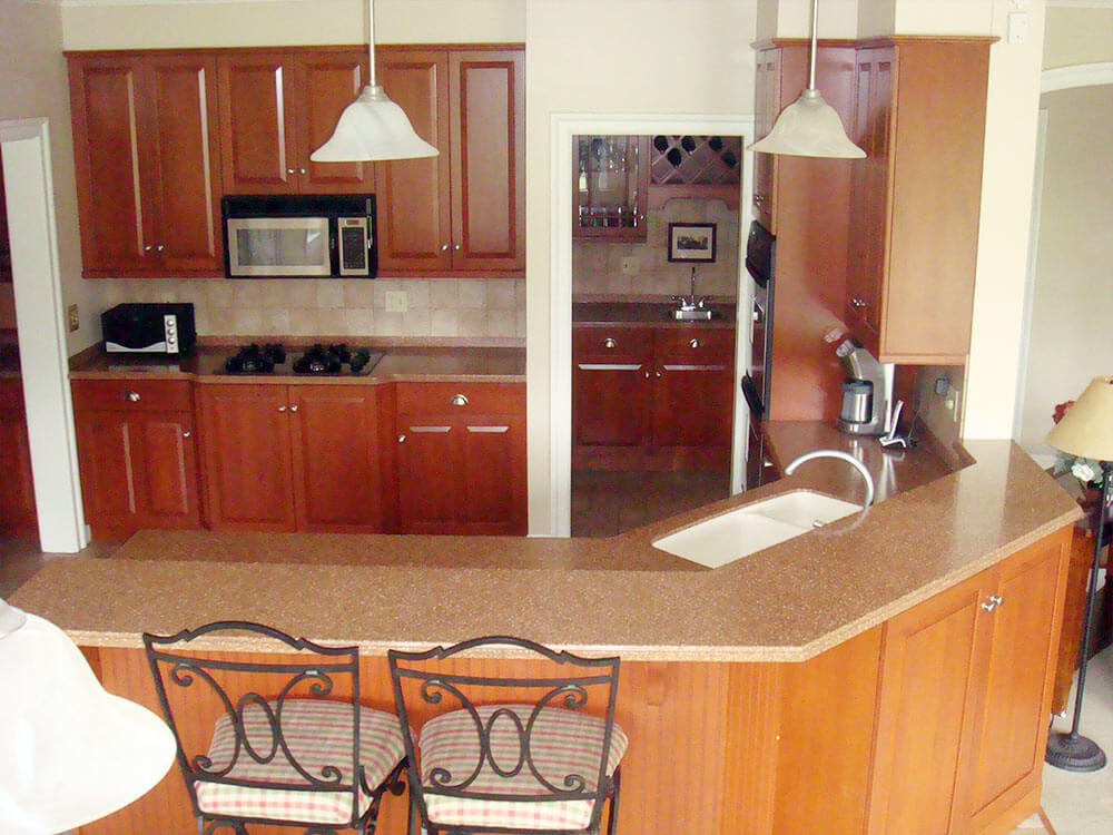 Kitchen Remodeling - Corian Countertops