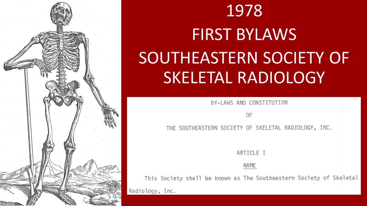 1978 first bylaws