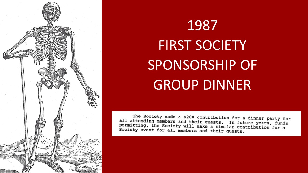 1987 first dinner
