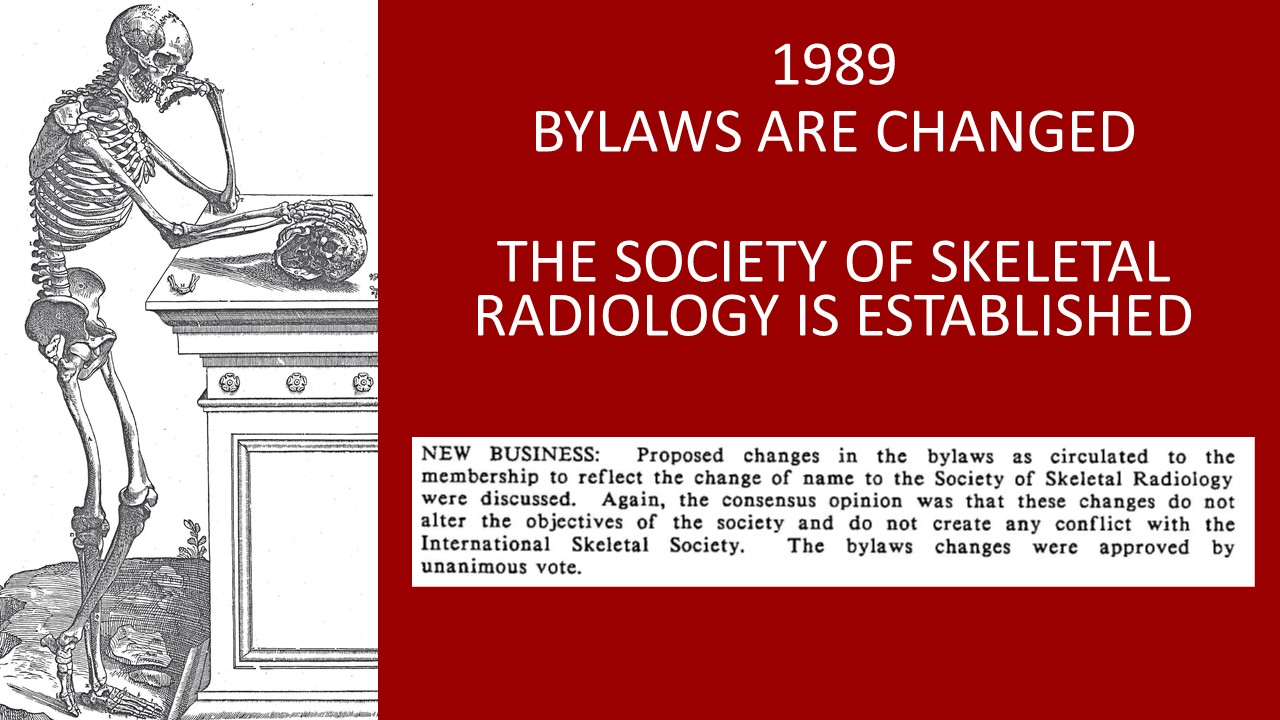 1989 SSR bylaws change