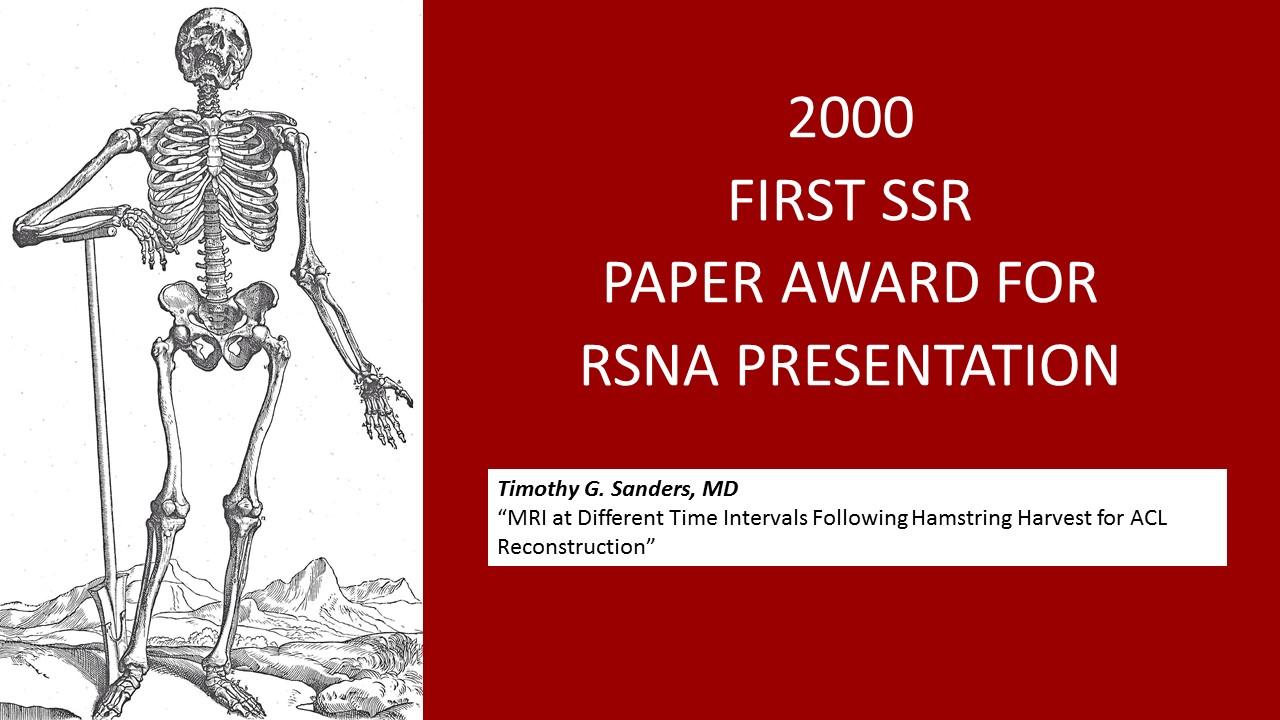 2000 RSNA paper