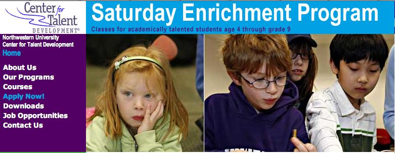 Northwestern University: Saturday Enrichment Program