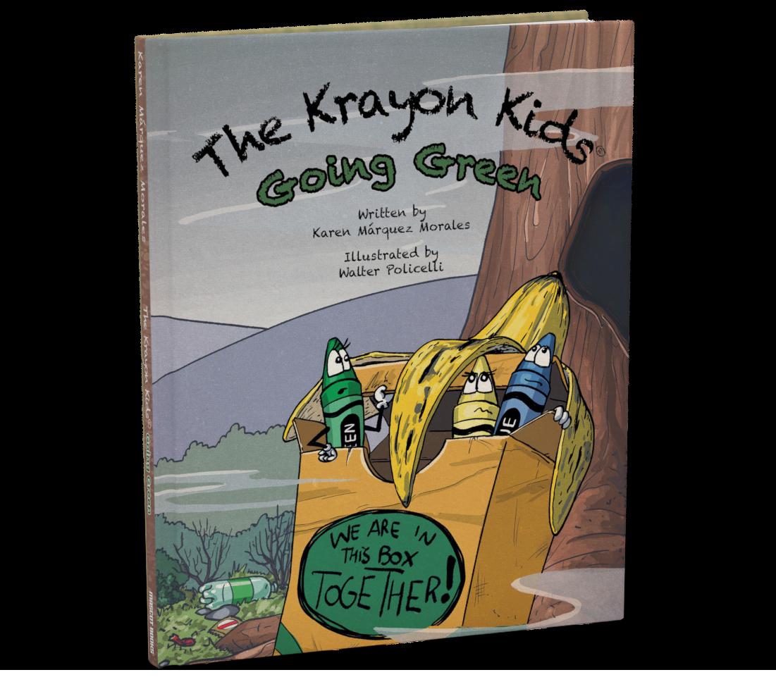 Krayon Kids Go Green Cover
