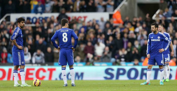 Newcastle Vs. Chelsea Starting Lineups: Terry Again Destined To Bench