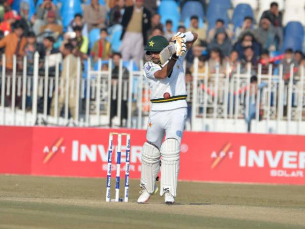 Abid Hits Record Ton as Rain-Hit 1st Test Ends in a Draw