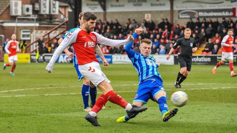 Could Fleetwood Town secure a play-off place?
