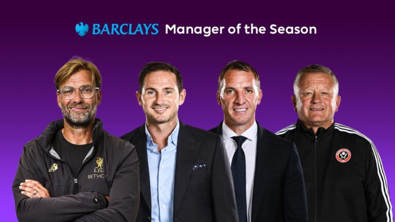 Ranking the Top 3 Managers in Premier League 2019-20