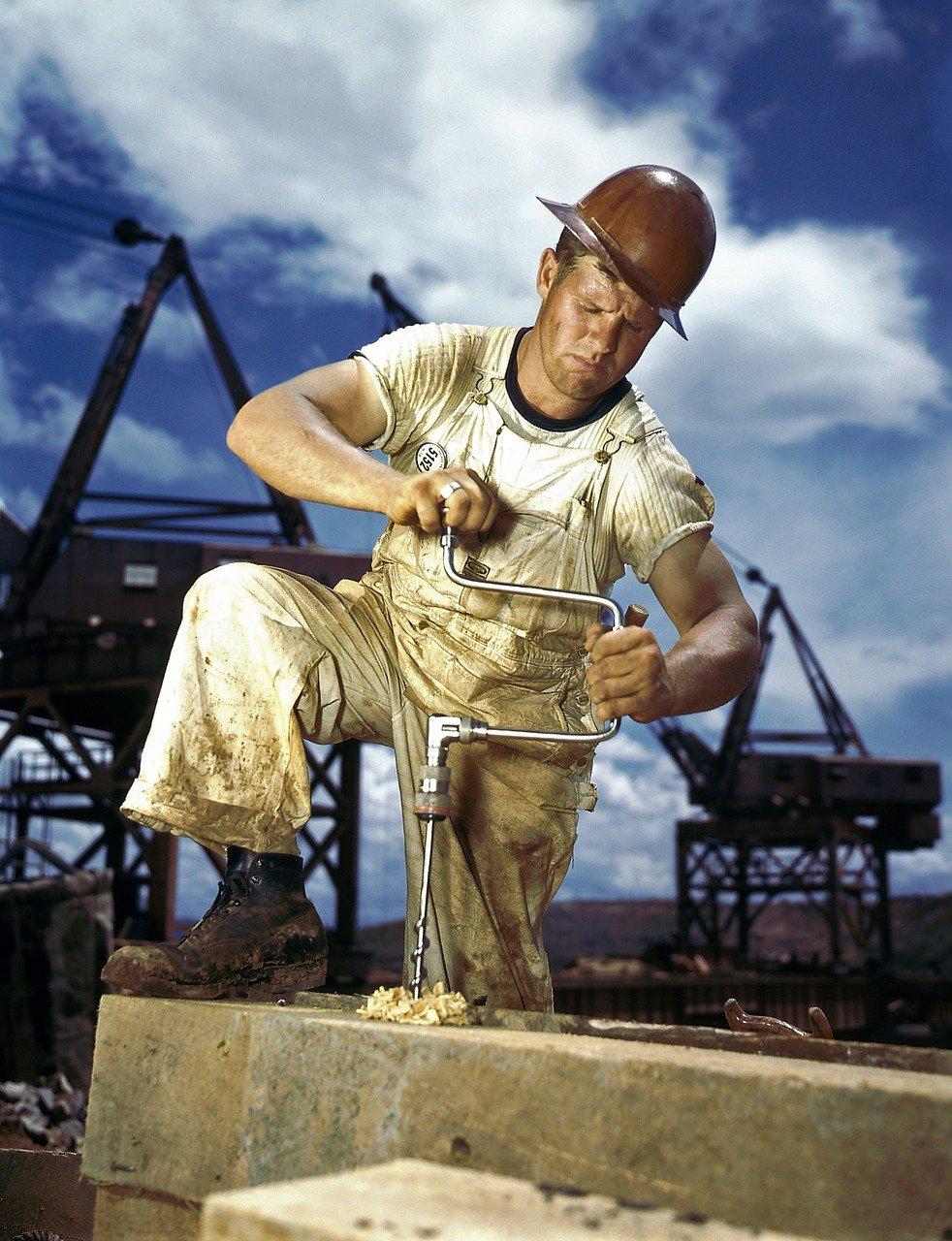 zimmermann, workers, drill