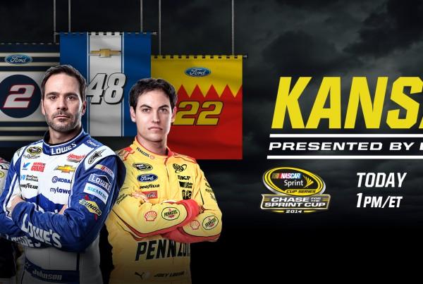 NASCAR Digital OOH