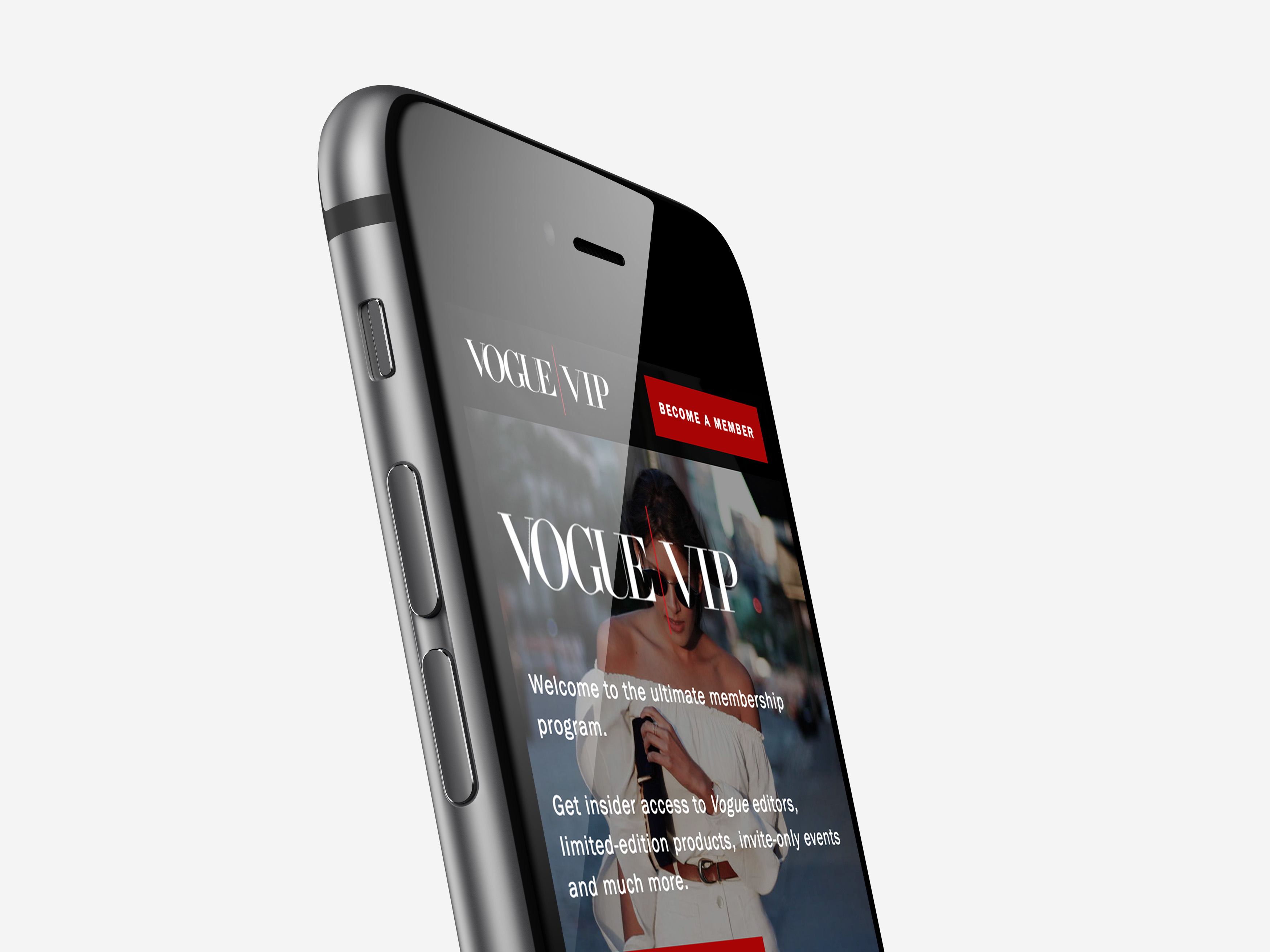 Vogue VIP - Home - Mobile