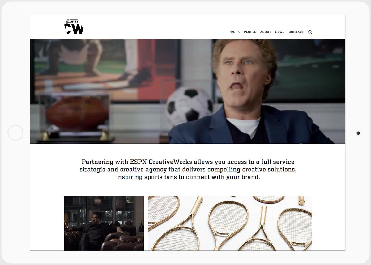 ESPN CreativeWorks - Home