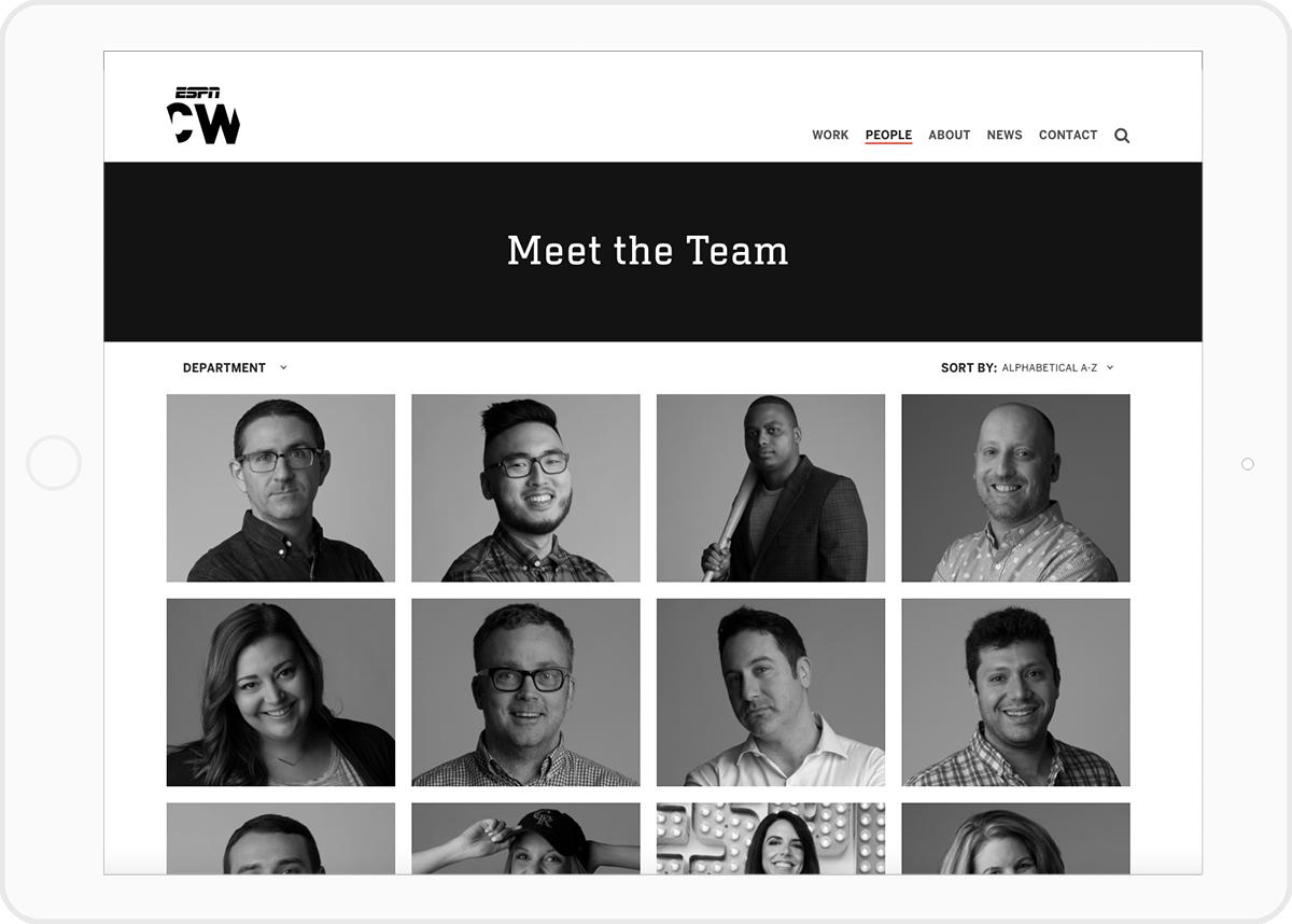 ESPN CreativeWorks - Meet the Team