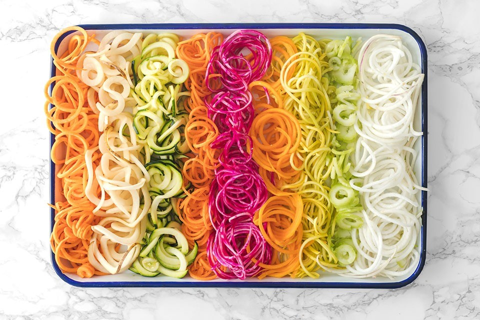 8 Veggies You Can Turn Into Noodles