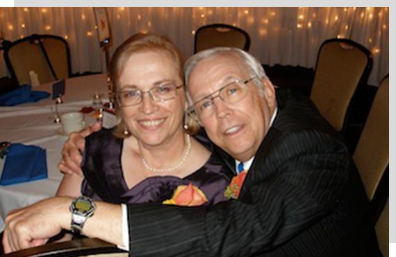 Kathy and Dan