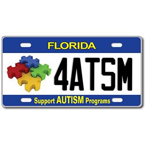 autism license plate