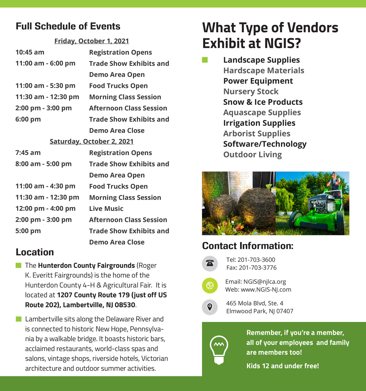 Attendee Brochure Page 2