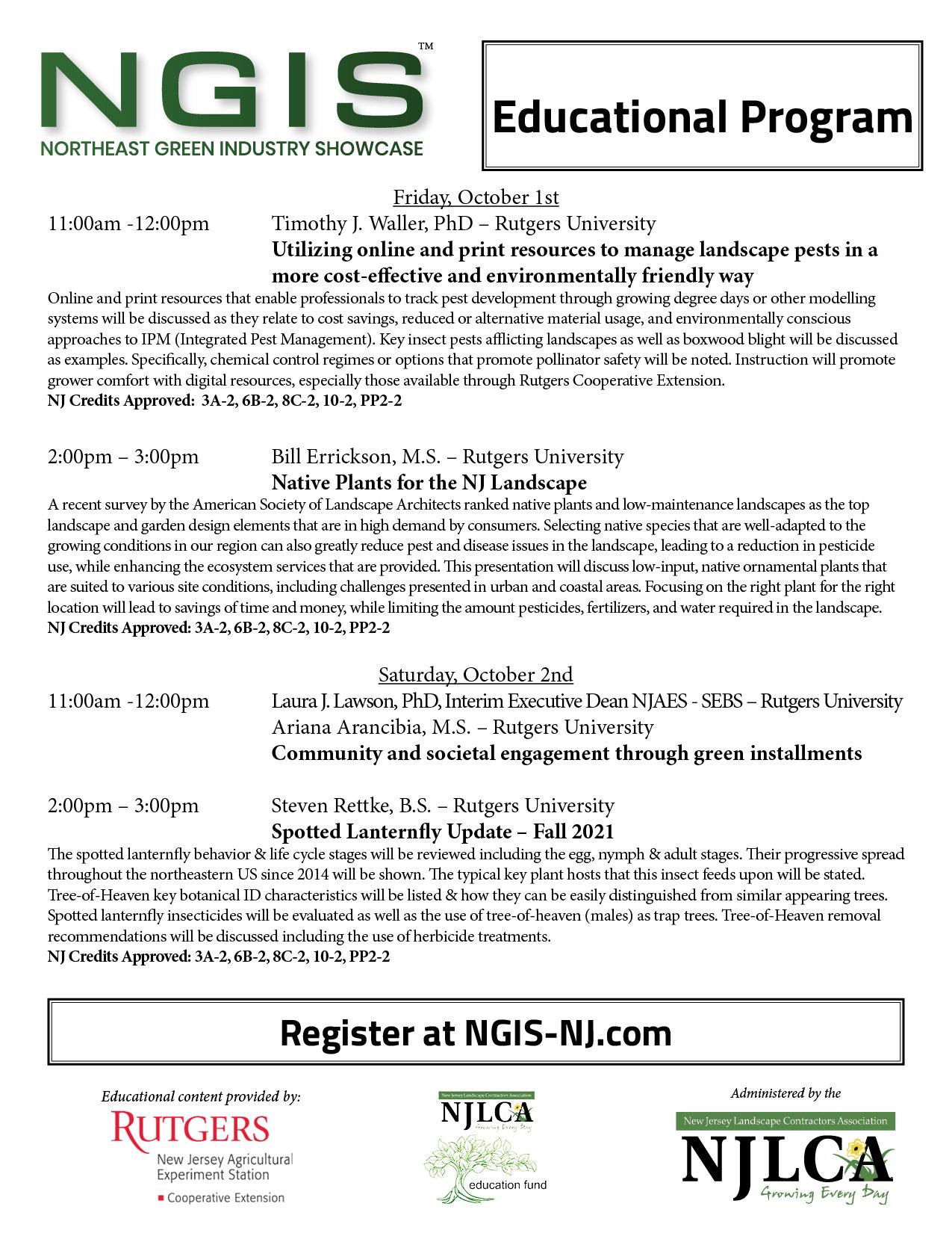 NGIS Educational Program