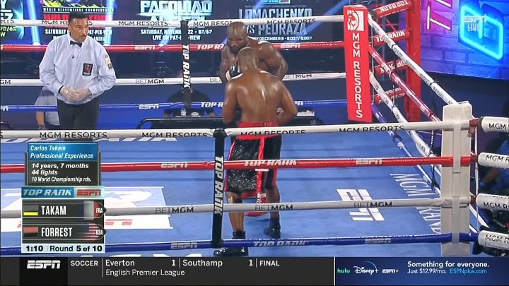 Carlos Takam vs Jerry Forrest