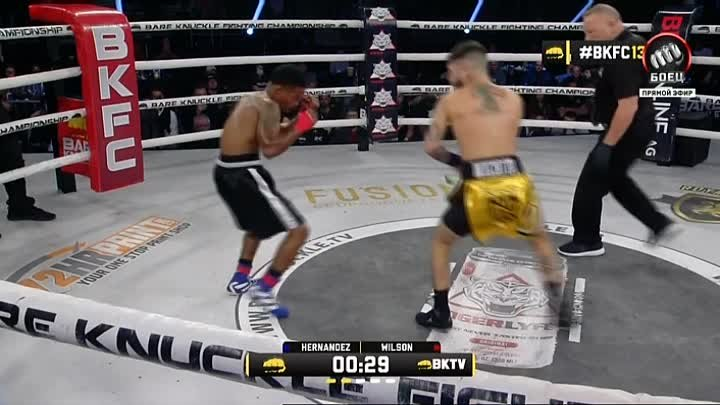 Nico Hernandez vs Chancey Wilson (BARE KNUCKLE FIGHTING CHAMPIONSHIP 13)