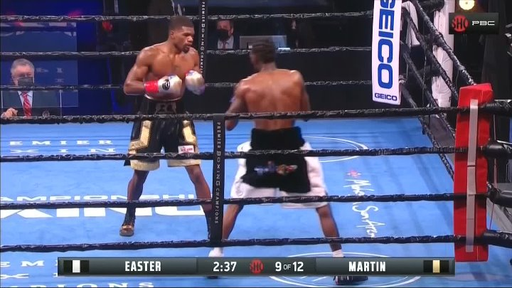 Robert Easter Jr. vs Ryan Martin