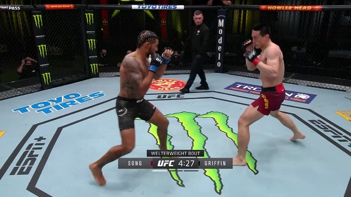 Max Griffin vs Kenan Song (UFC on ESPN 21)